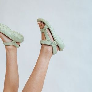Teva Sage Green Hurricane Drift Sandals